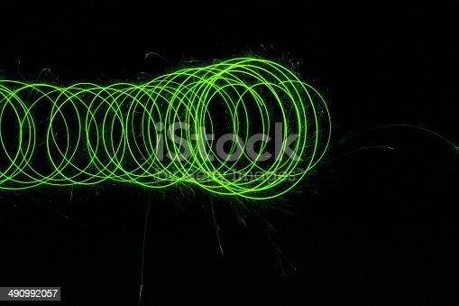 Abstract Lightbrush technology