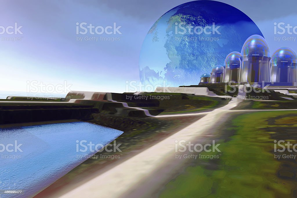 Light Path royalty-free stock photo
