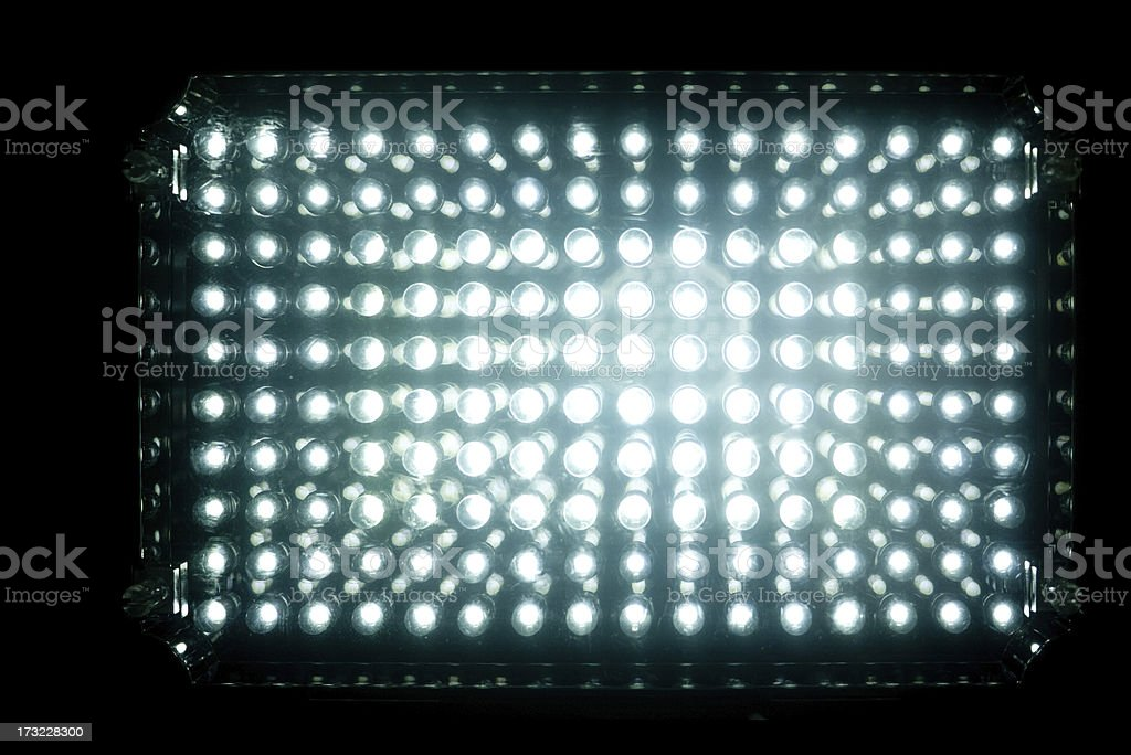 LED light stock photo