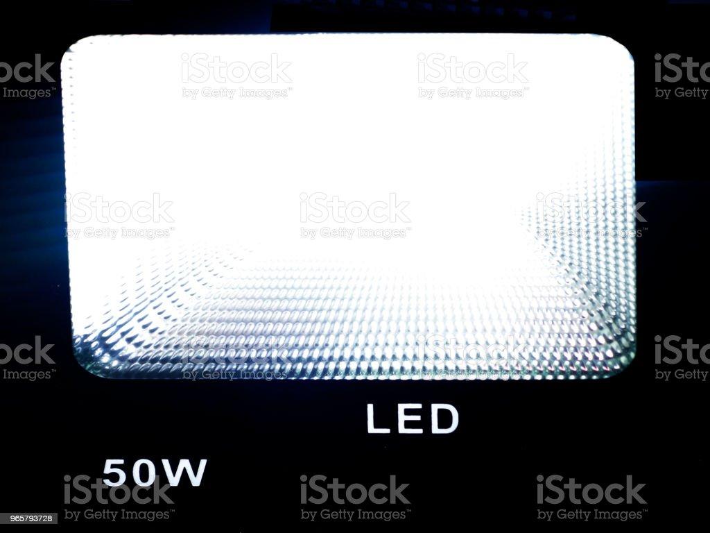LED light LED light Back Lit Stock Photo