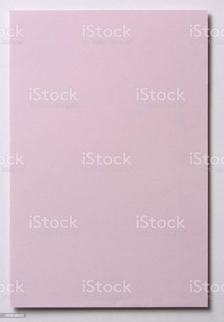 Light pink note paper stock photo