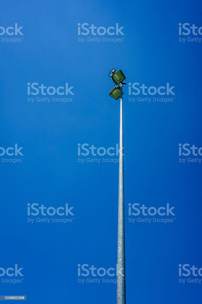 lightning tower for illumination in sports stadium