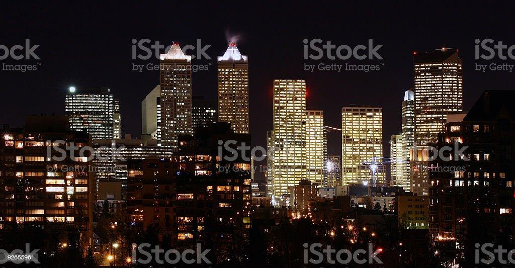 Light Polution royalty-free stock photo