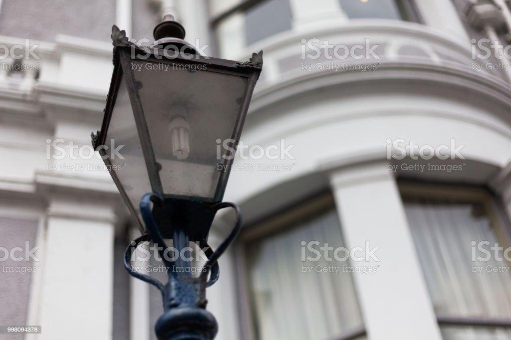 Light Post On The Road Street Light Post Street Lamp On The Road
