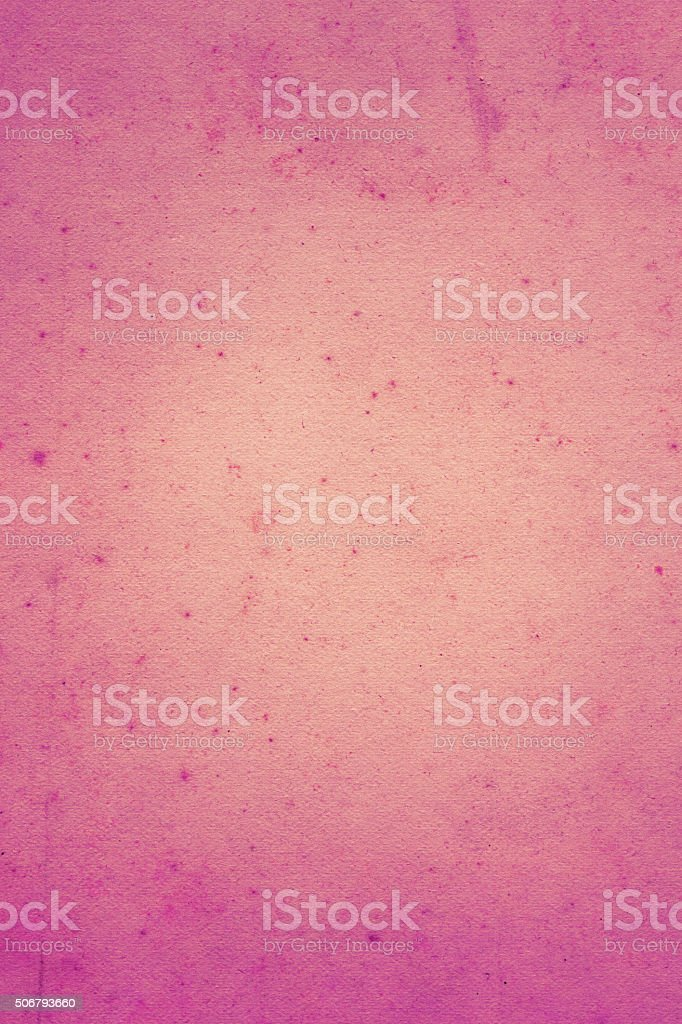 Light purple distressed paper with worn center area stock photo