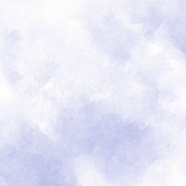 light purple water color wash background - purple watercolor stock photos and pictures