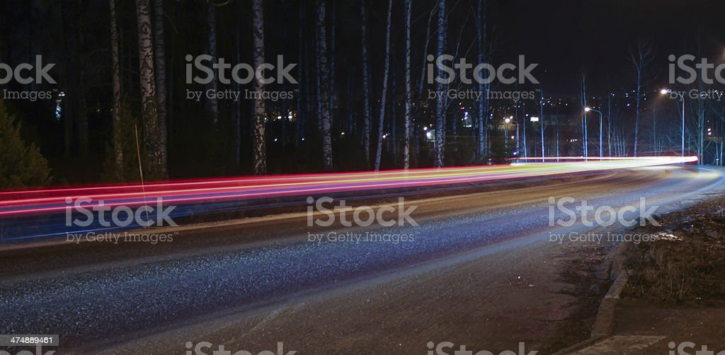 Light rays stock photo
