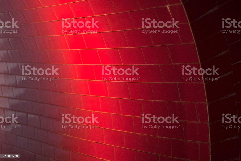 Light red tiles stock photo