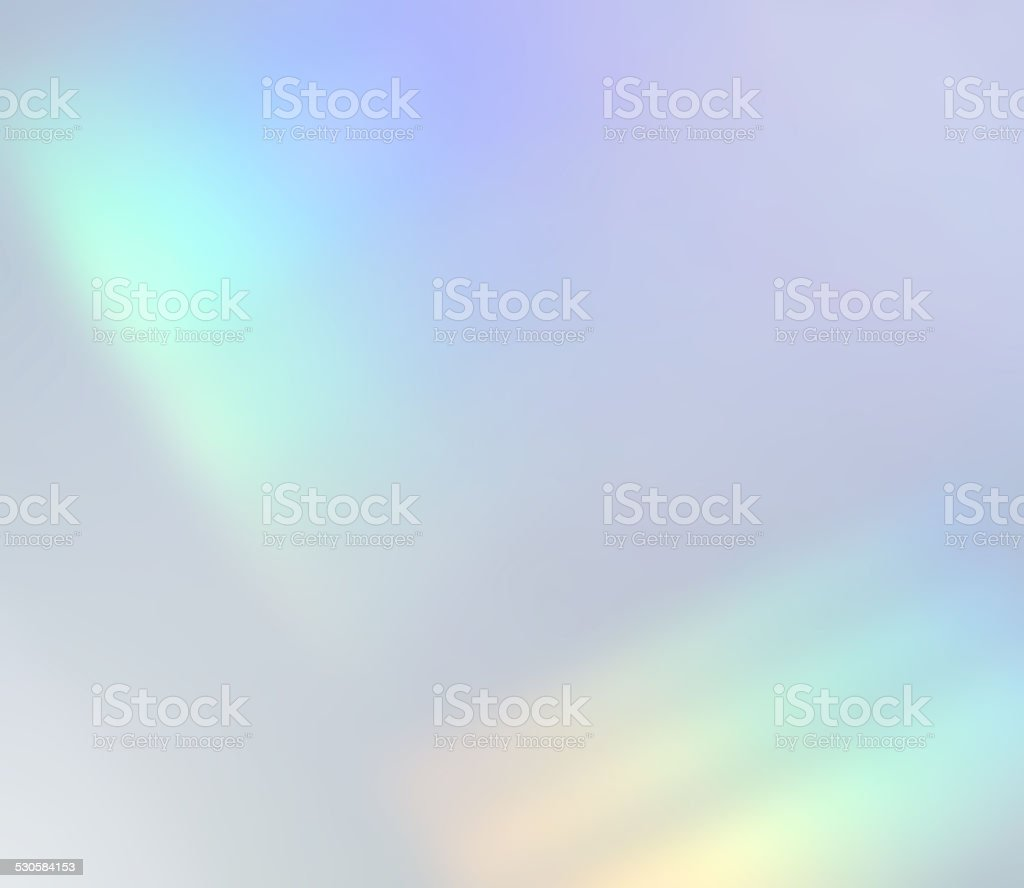 Light Refraction Soft Pale Background Abstract Defocus Rainbow stock photo