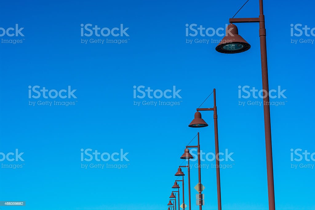 Light row royalty-free stock photo