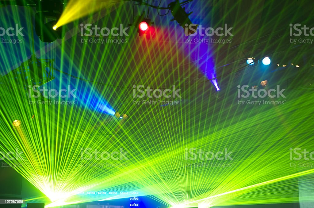 Light Show royalty-free stock photo