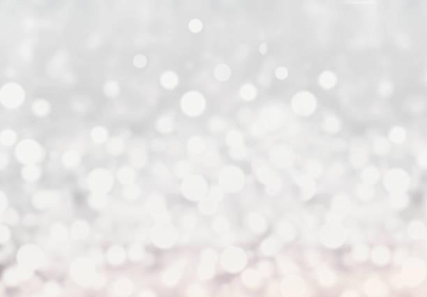 licht silber abstrakt weihnachten hintergrund mit leuchtenden magic bo - weihnachten de stock-fotos und bilder