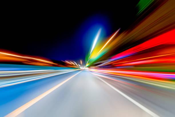 Lichtgeschwindigkeit Explosion Abbildung – Foto