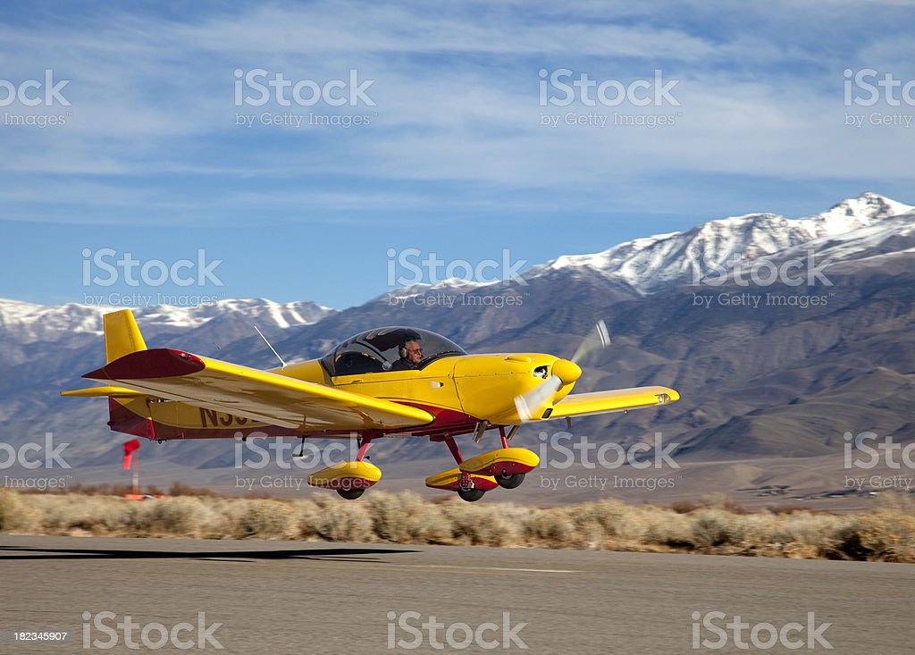 Light Sport Aircraft royalty-free stock photo