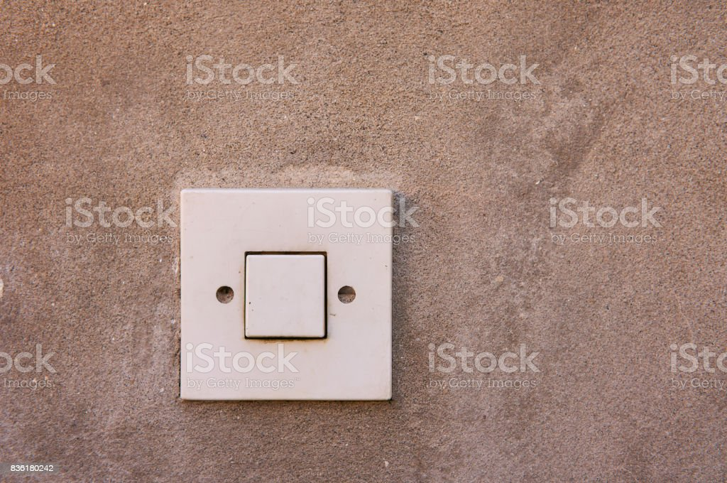 Light swich stock photo