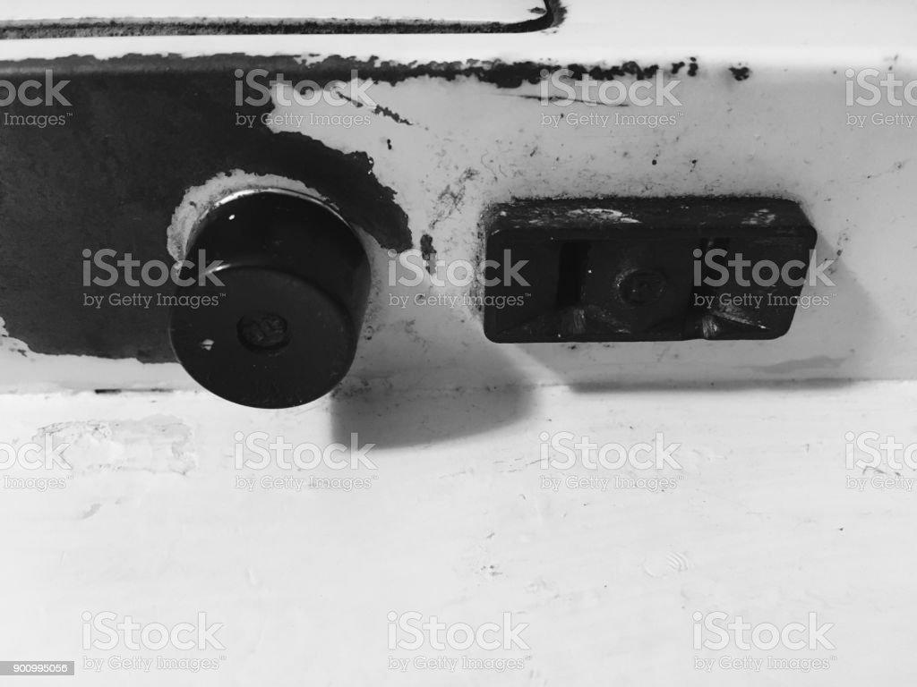 Light Switch B&W - Royalty-free Bathroom Stock Photo