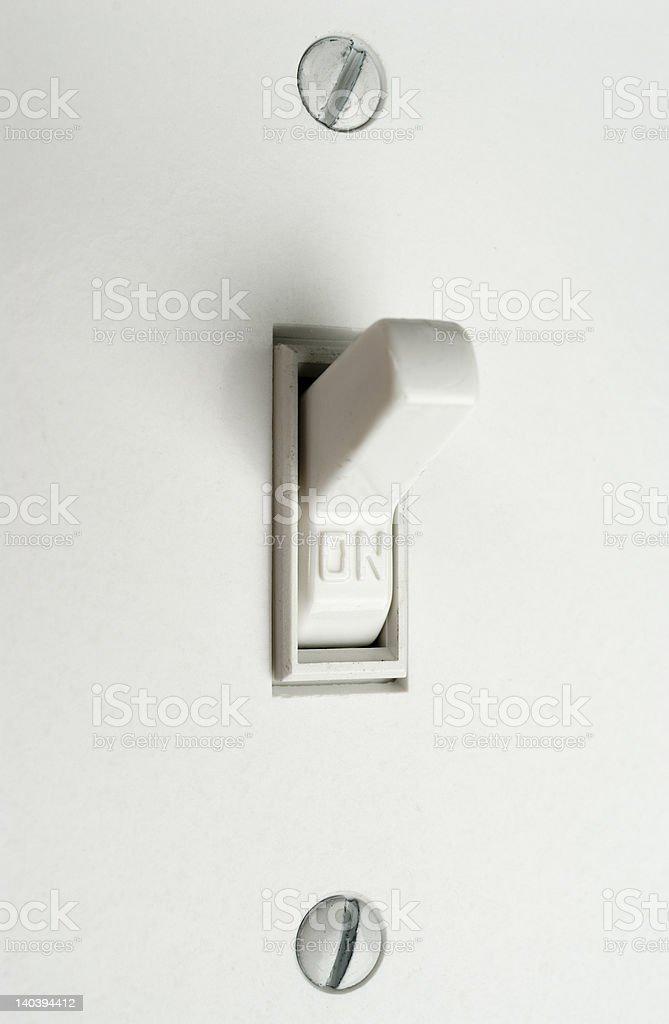 Light Switch. stock photo