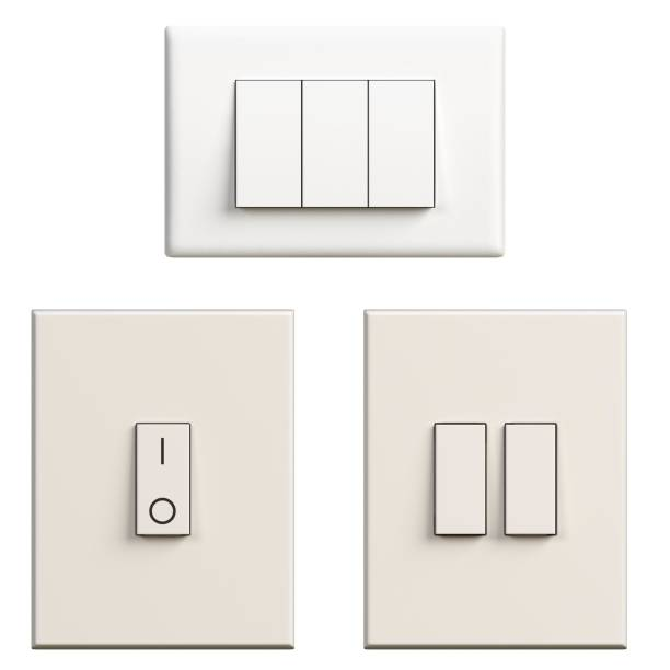 Light switches - foto stock