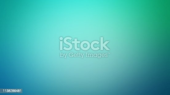 Light Teal Defocused Blurred Motion Abstract Background, Widescreen, Horizontal