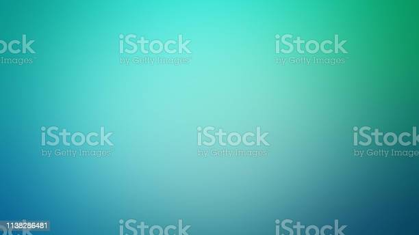 Photo of Light Teal Defocused Blurred Motion Abstract Background