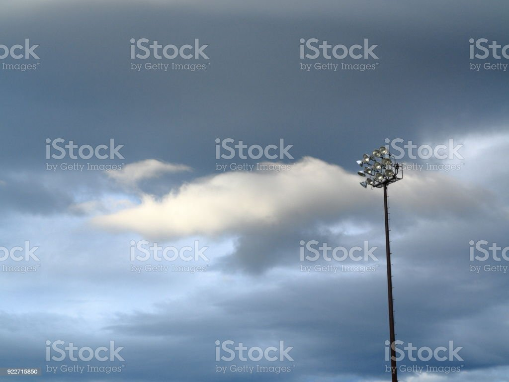 Light Towers stock photo