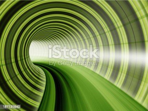 673622922istockphoto light trails in tunnel 187131640