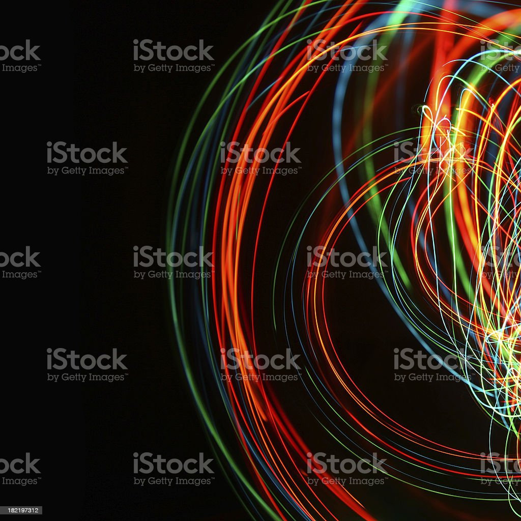 Light trails Light trails Abstract Stock Photo