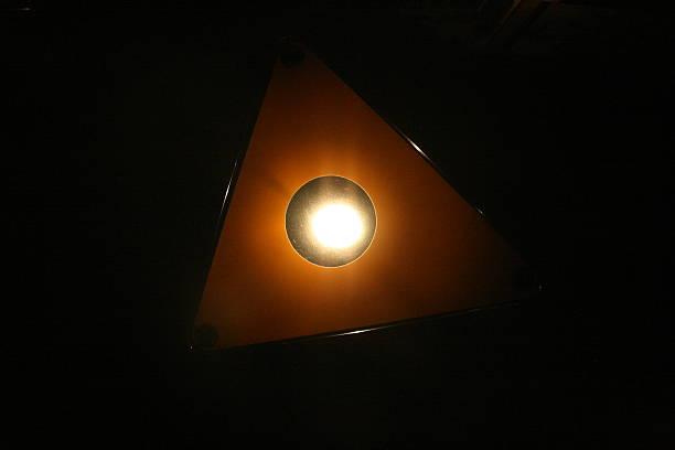 Light Triangle stock photo