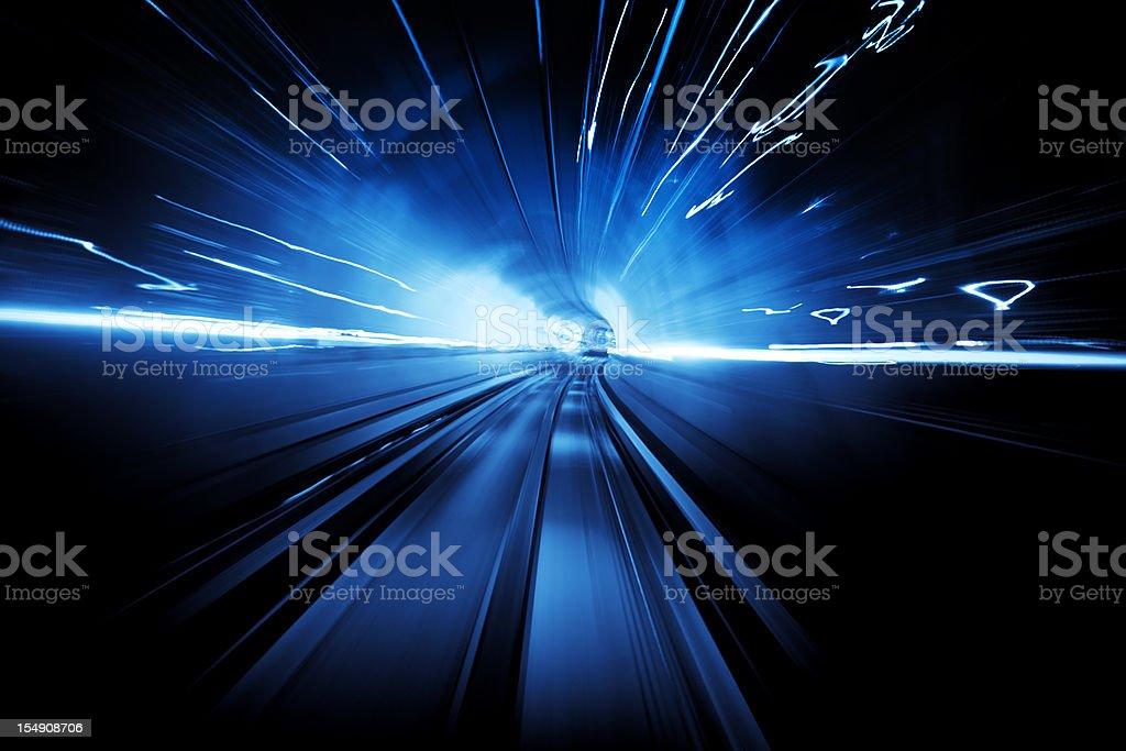 Light Tunnel stock photo