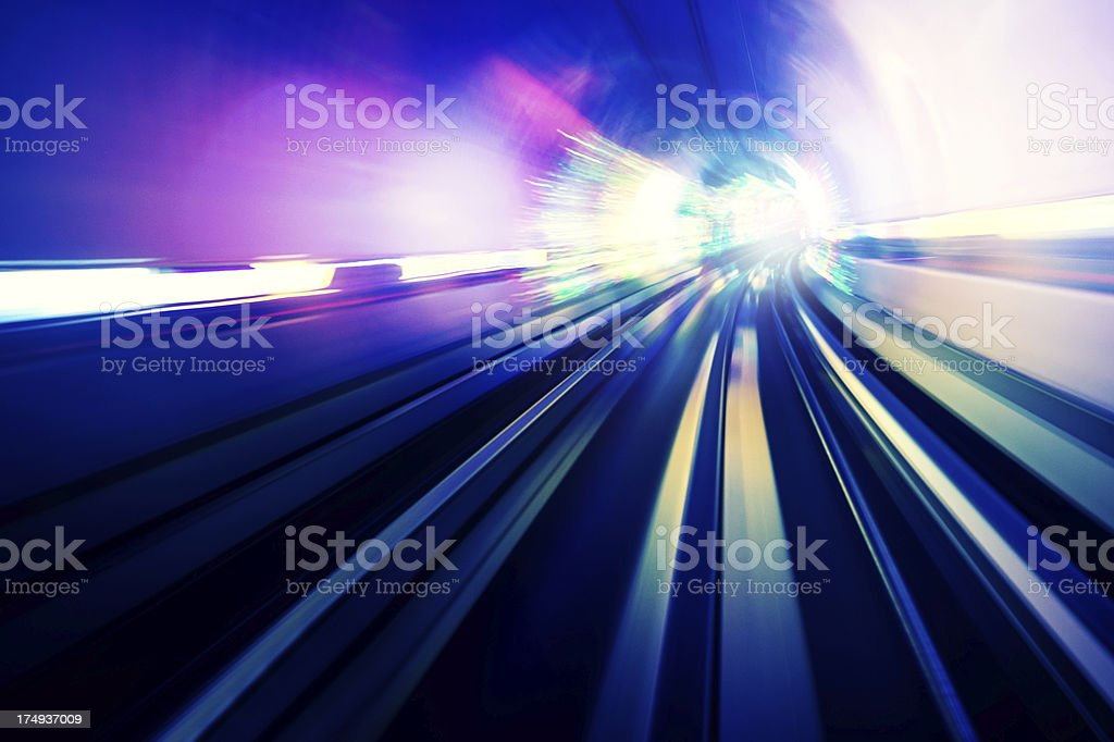 Light Tunnel royalty-free stock photo