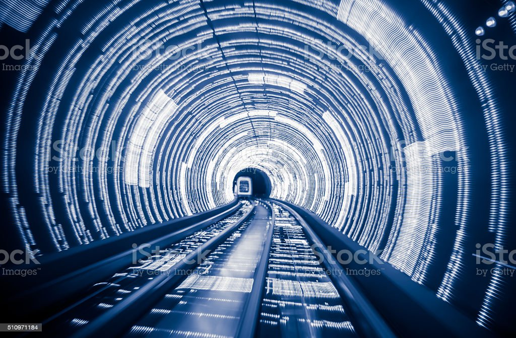 Light-Tunnel – Foto