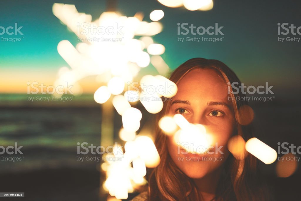 Light up your life stock photo