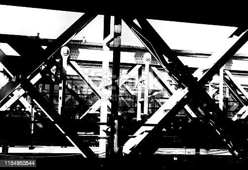 Bridge steel work