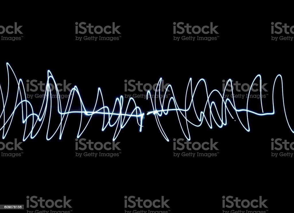 Light wave stock photo