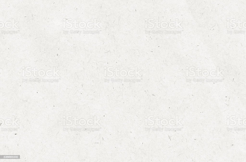 Light white recycled paper texture with copy space stock photo