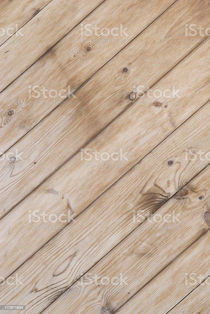 Light Wood Plank Diagonal royalty-free stock photo