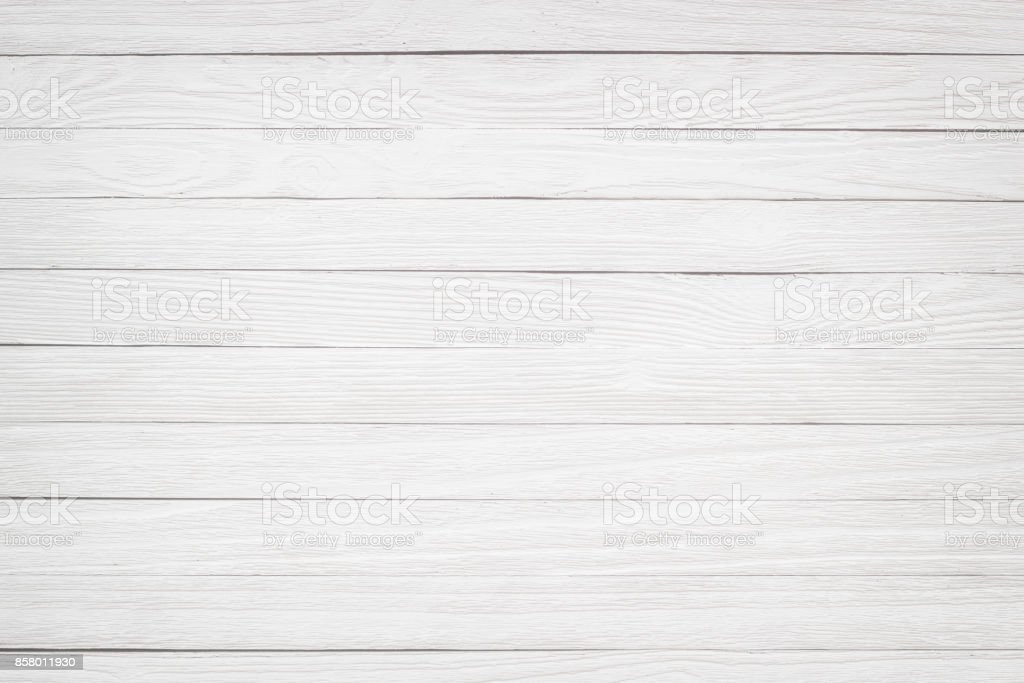 Light wood texture. Painted wooden table white stock photo