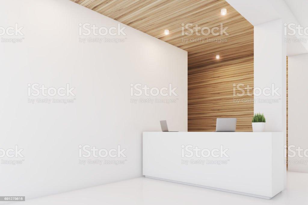 Hölzerne Lichtempfang, Sessel, Seite – Foto