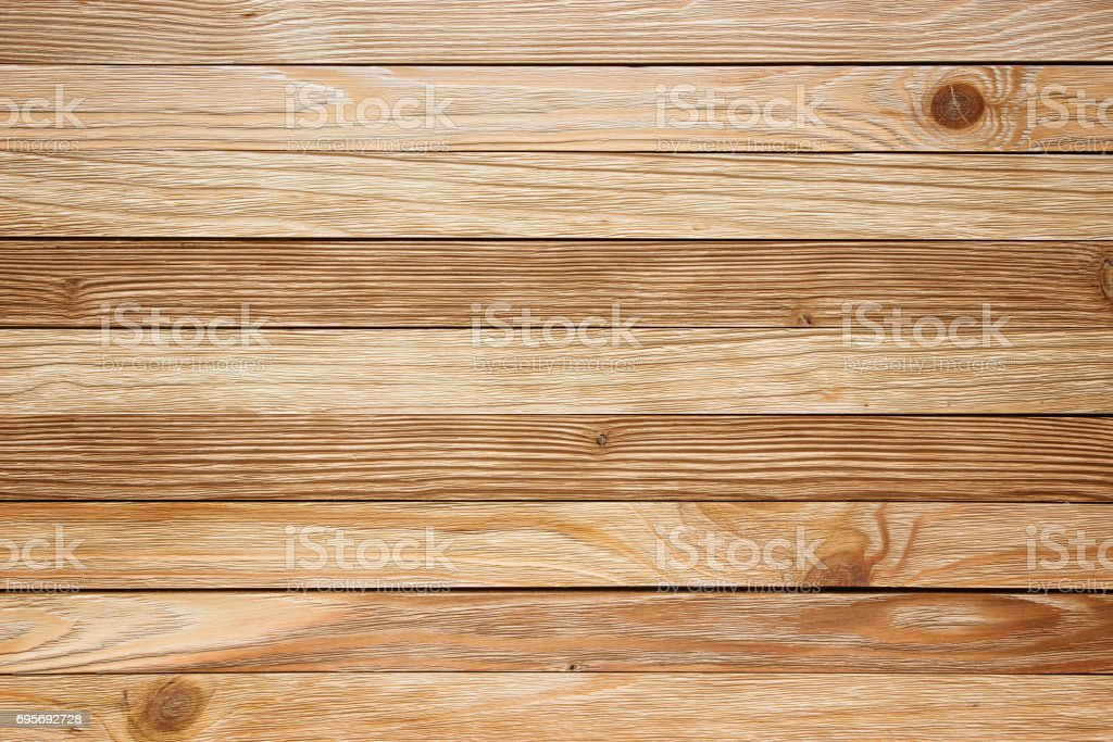 Light Wooden Table, Top View. Wood Texture For Background Royalty Free  Stock Photo