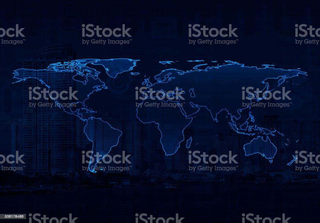 Luz mapa mundial ciertos elementos de esta imagen cuenta por la nasa luz mapa mundial ciertos elementos de esta imagen cuenta por la nasa foto de stock gumiabroncs Images