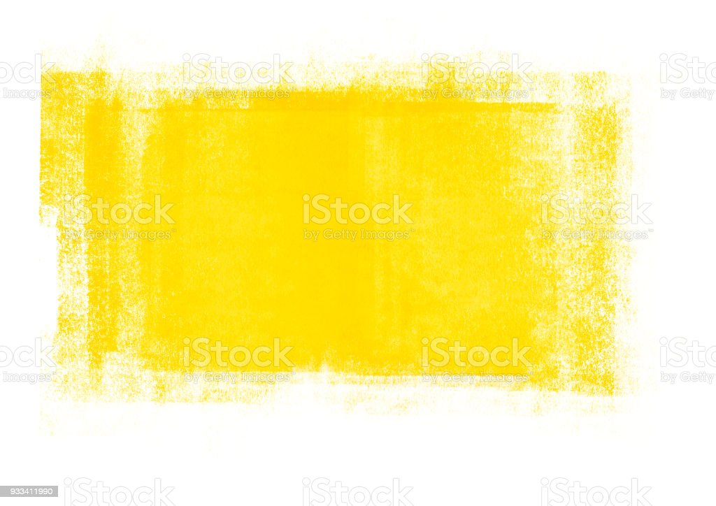 Light yellow graphic color graphic color brush strokes patches effect stock photo