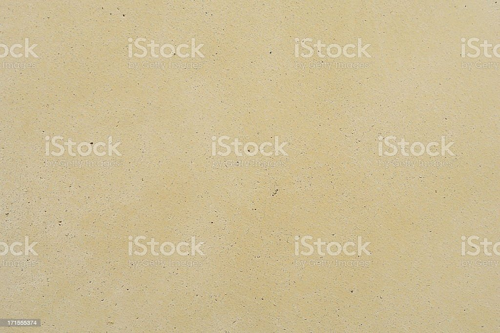 Light Yellow Painted Concrete - Urban Texture Series royalty-free stock photo