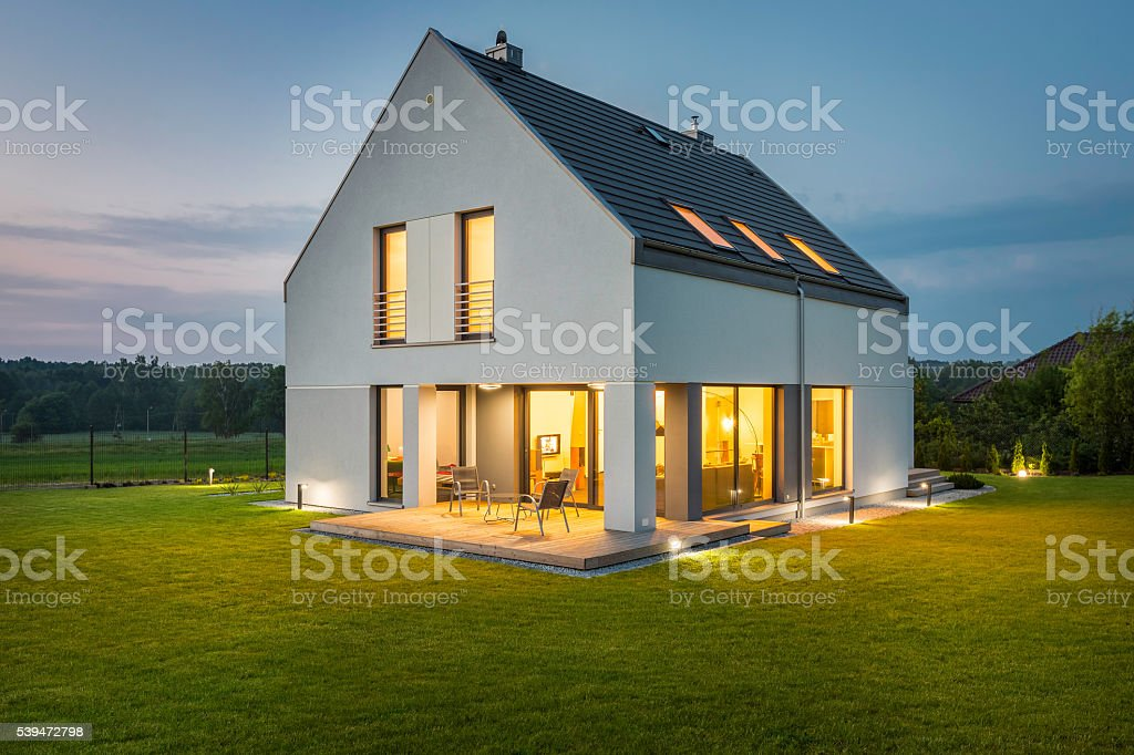 Light your home! stock photo