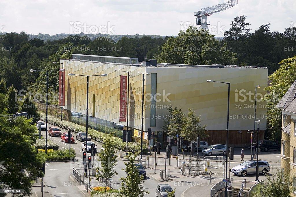 Lightbox Art Gallery Woking Stock Photo - Download Image Now