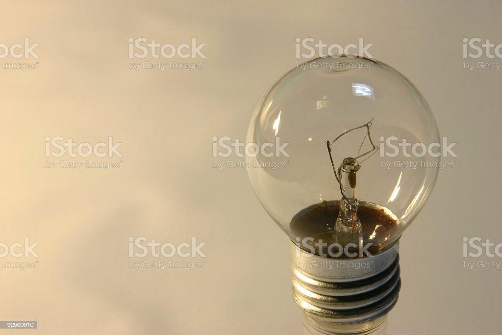 Lightbulb 2 royalty-free stock photo