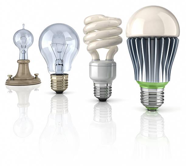 LED Glühbirne evolution – Foto