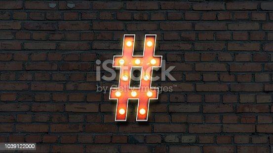 1039121906istockphoto lightbulb hashtag 1039122000