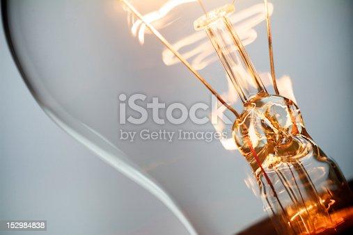Burning incandescent