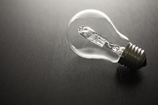 Lightbulb - Fotografie stock e altre immagini di Attrezzatura per illuminazione