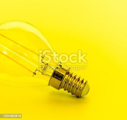 Lightbulb,Incandescent light bulb closeup